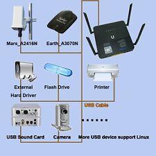 1200M wifi Gigabit Vpn Router 512M USB 3.0 4*antenna share 4G dongle Disk Print
