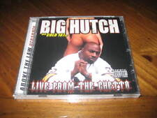 BIG HUTCH - Live from the Ghetto Rap CD - Cold 187um Above the Law KOKANE KMG