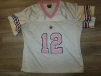 Dallas Cowboys #12 NFL Football Jersey Women's M 8-10