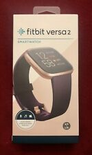 Fitbit Versa 2 Activity Tracker - Bordeaux/Copper Rose Purple Band