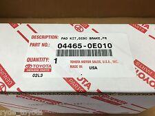 KLUGER GSU50 GSU55 FRONT BRAKE PADS 12/2013 ONWARDS ** TOYOTA GENUINE PARTS **