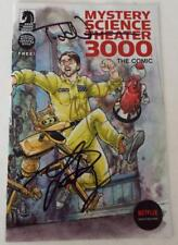 SDCC 2018 SIGNED Preview Comic MYSTERY SCIENCE THEATER 3000 Nauck Day Heisler