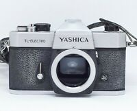Yashica TL-Electro 35mm SLR camera body - Tested & Working