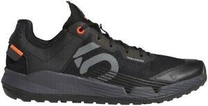 Five Ten Trailcross SL Men's Flat Shoe: Black/Gray Two/Solar Red 11.5