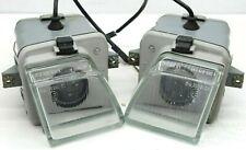 90-95 Mercedes Fog Lights Lamps PAIR R129 W124 W129 SL E 1298200256 1298200156