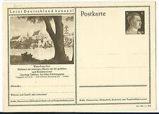 DR GA P304 Bildpostkarte WASSERBURG (INN) 1941 ungelaufen