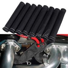 Black 1200° Spark Plug Wire Boots Heat Shield Protector Sleeve SBC BBC 350 454
