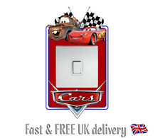 DISNEY CARS STICKER LIGHT SWITCH SURROUND WALL STICKER DECAL