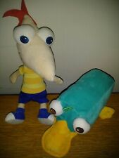 """Disney Parks Phineas and Ferb plush 9"""""""