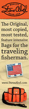 Steve Abel Fly Fishing Tackle Bag & Luggage by the creator of Abel Reels