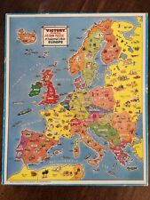 Victory Vintage Wood Industrial Life of Europe Jigsaw Puzzle
