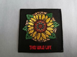 This Wild Life Sew or Iron On Patch