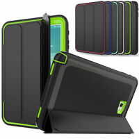 For Samsung Galaxy Tab A 10.1 SM-T580 T585 2016 Heavy Duty Shockproof Smart Case