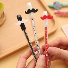 2 Gel Pens Moustache FunStationery Writing School Birthday Party Loot Bag Filler
