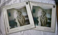 RARE Cor de Groot Beethoven Piano Concerto 3 and 4, two vinyl LPs