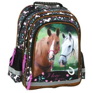Pferd Pony Einhorn Horses SCHULRUCKSACK RUCKSACK TASCHE SCHULRANZEN Unicorn **