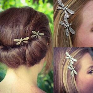 Dragonfly Hairpins Bridal Headdress Wedding Hair Dragonfly Clip Hair C6T8