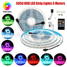 5m 5V Dimmable USB  LED Strip Lights 5050 RGB TV Back Lighting + Remote
