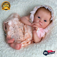 Reborn Baby Doll 17 Inches Lifelike Newborn Baby Vinyl Unpainted Unfinished DIY