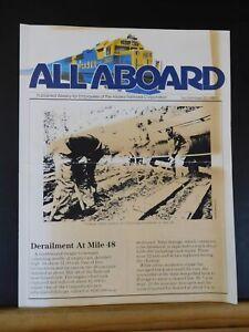 All Aboard 1985 September 27 Employees of Alaska Railroad Corporation Newsletter