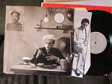 JAPAN Tin Drum LP A3/B3 ORIG PRESS W/POSTER V2209 david sylvian uk rare '81 synt