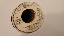 Lorraine Ellison 45 If I Had a Hammer/Heart and Soul WB Promo 5895