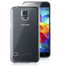Ultra Thin 2014 NEW-Clip-on Crystal Case for Samsung Galaxy S5 i9600,Clear Rear