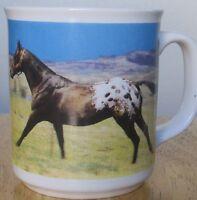 Vintage Appaloosa Horse Mug