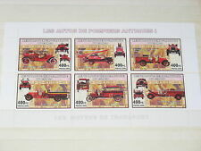 Congo unlisted MS Fire Fighting Engines Fuerwehr Cars**