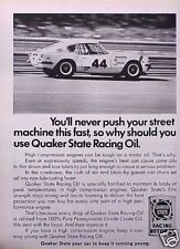 1970 Triumph Racing Quaker State ORIGINAL Vintage Ad  C MY STORE   5+= FREE SHIP