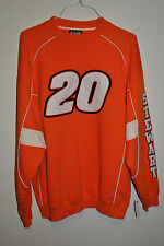 NASCAR Tony Stewart # 20 Chase Home Depot Orange White Sweatshirt Size XL