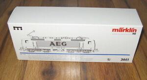Marklin HO 3441 BR143 AEG Overhead Electric Locomotive DELTA/Digital New? Box