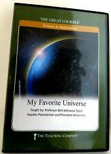 GC MY FAVORITE UNIVERSE Neil deGrasse Tyson DVD+Guidebook+Transcript EXCELLENT C