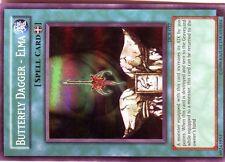 Ω YUGIOH CARTE NEUVE Ω SUPER RARE DCR-032 BUTTERFLY DAGGER-ELMA
