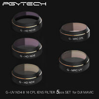 PGY G-UV ND8 ND16 CPL HD Objektiv Filter Set Quadcopter Für DJI Mavic PRO Drone