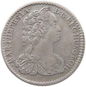 AUSTRIA 6 KREUZER 1745 MARIA THERESIA #t148 305