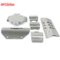 For 1/10 Traxxas TRX6 G63 Stainless Steel Chassis Armor Skid Plate Guard Replace