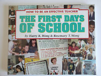 The First Days of School : How to Be an Effective Teacher BRAND NEW