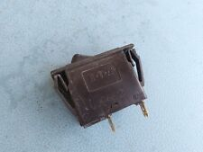 E-T-A 3120-F311-P7T1-W01H ROCKER SWITCH THERMAL CIRCUIT BREAKER, 310