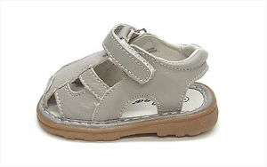 New Infant/Toddler Genuine Leather Cutie Close Toe Sandals Size  2 ~ 7