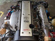 TOYOTA CHASER 2.5L VVTI TURBO ENGINE MANUAL R154 TRANS HARNESS ECU JDM 1JZ