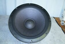 "Vintage Altec Lansing 515B 16 ohm 15"" Woofer, reconed ready to install."