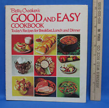 Cookbook Betty Crockers Good and Easy Recipes Breakfast Lunch Dinner