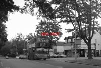 PHOTO  1998 SHIRLEY (MONKS ORCHARD ROAD) BUS TERMINUS IN 1998  ROUTE 166 RAN BET