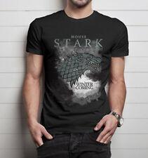 Official Game of Thrones House Stark Unisex Tshirt Fantasy Jon Snow Robb Stark