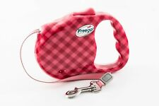 Brand New Medium size retractable lead for dogs in a funky design