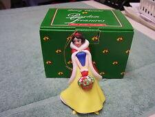 SNOW WHITE Disney Grolier Porcelain Treasures 26306- 114 Coll. Ornament w/bx