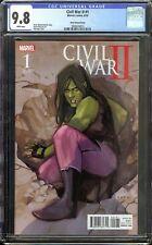 Civil War II #1 CGC 9.8 Noto She-Hulk Variant Disney Plus