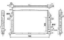 NRF Radiador, refrigeración del motor OPEL ZAFIRA VAUXHALL 53082
