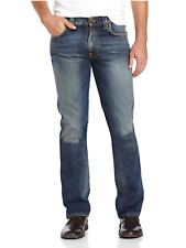 Nudie Herren Regular Slim Fit Jeans Hose - Slim Jim Indigo Mood - W28 / W29